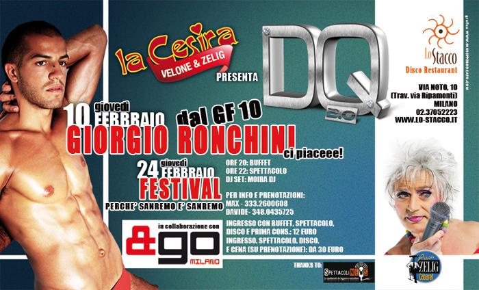 Giorgio Ronchini DQ Milano 10 febbraio 2011